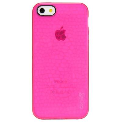 Gecko Luminescent Glow In The Dark Case For iPhone 5/5S/5SE - Pink