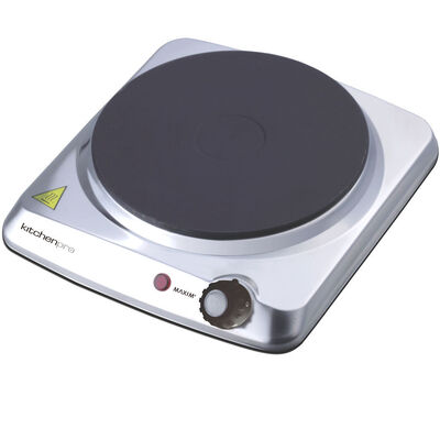 Maxim Portable Electric Single hot Plate Cooker HotPlate Cooktop Stove/Caravan