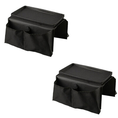 2PK Couch Arm Tray