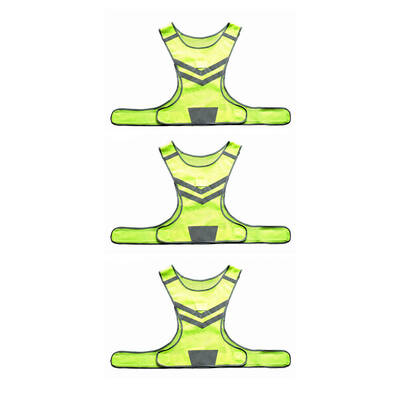 3PK LED Riding Vest Running Jacket