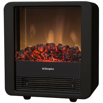 Dimplex Minicube B Electric Fireplace Heater with Flame and Smoke Effect