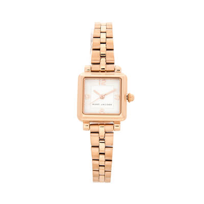 Marc Jacobs Women's 20mm Vic Stainless Steel Watch - White/Gold