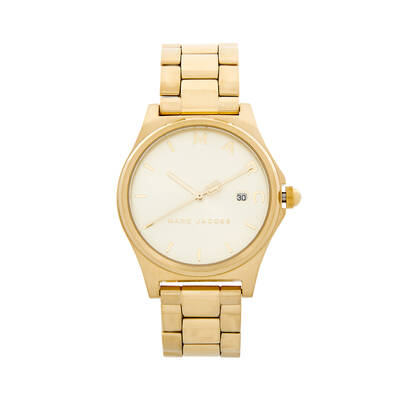 Marc Jacobs Women's 38mm Henry Stainless Steel Watch - Gold