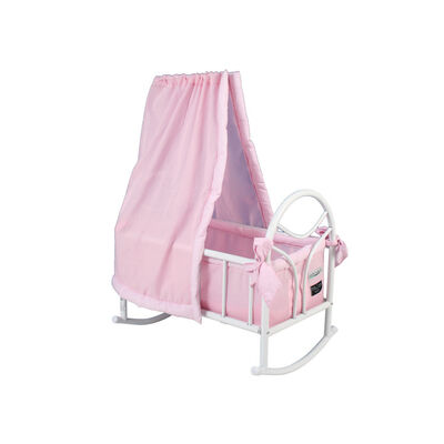 Valco Baby Just Like Mum Doll Cradle Pink