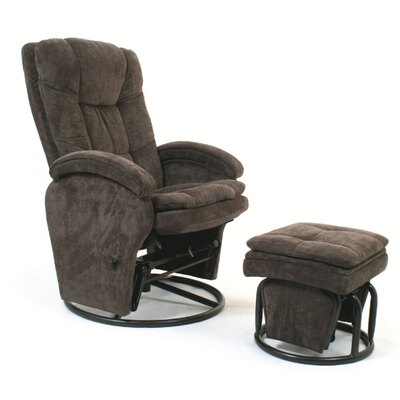 Valco Baby Tranquillity Glider Nursing Chair - Brown Cocoa
