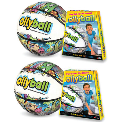 2PK OllyBall - Play Ball in the House
