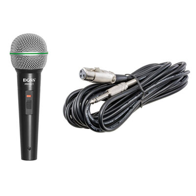 DOSS Dynamic Professional Vocal Microphone Mic for PA Public Address Speaker