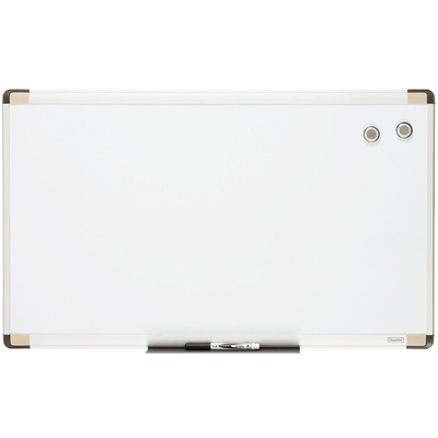 76X45Cm Wall Mountable Magnetic Whiteboard/Aluminium Frame/Picture/Marker/Magnet