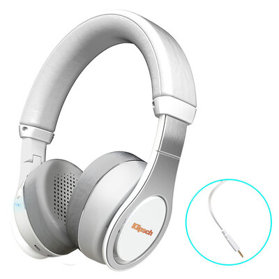 Klipsch Reference On-Ear Wireless Bluetooth Headphones - White