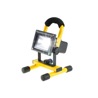 10W Rechargeable Work Camping Led Flood Lamp Light Indoor Outdoor Weather Resist