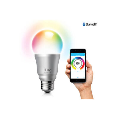 Iluv Rainbow7 Smartphone Bluetooth Controlled Led Lightbulb Colour/Brightness