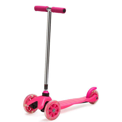 Pink Outdoor Three Wheel Scooter Ride-on 3yr+