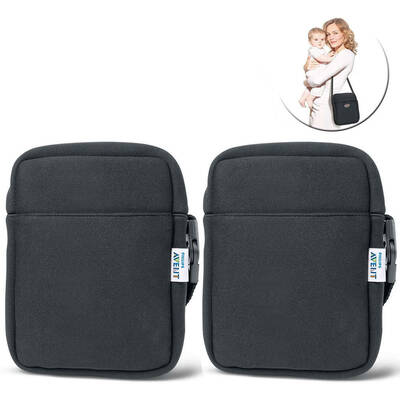 2PK Avent Neoprene ThermaBag Black