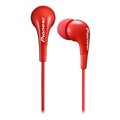 Pioneer SE-CL502 In Ear Dynamic Headphones/Earphones Red