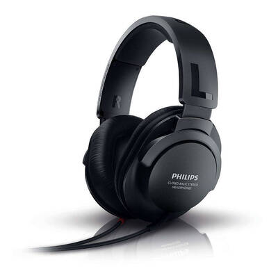 Philips SHP2600 Extra Bass Over Ear Sound Isolation 3.5Mm Headphones 1.8M Cable