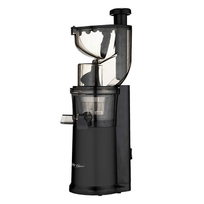 Healthy Choice 200W Cold Press Slow Juicer Black