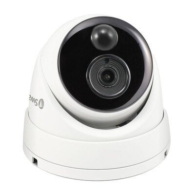 Swann 5MP Super HD Thermal Sensing Dome IP Security Camera - NHD