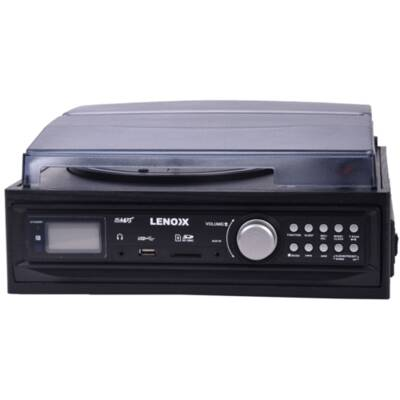 Am Fm Radio Vinyl Turntable Cassette Player Recorder Via Usb/Sd Card Encoder