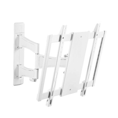 Westinghouse Dual Articulated Arms 400x400 TV Wall Mount - White