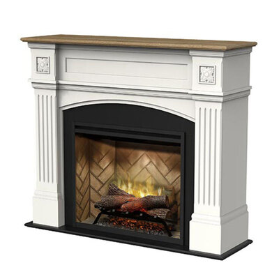 "Dimplex WDS20 30"" Windlesham Revillusion Electric Fireplace w/ Mantel"
