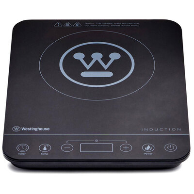 Westinghouse Electric 2000W Slimline Induction Cooktop w/ LED Display