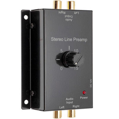 X-1327 Stereo Audio Line Preamp