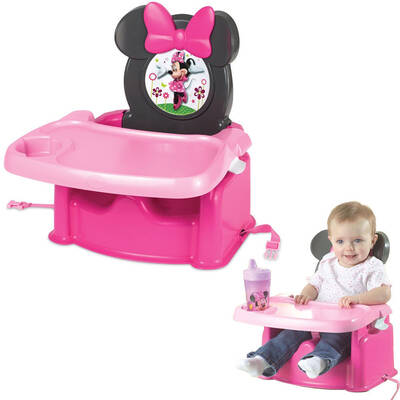 Minnie Mouse Foldable Baby/Child High Chair Booster Feeding Seat
