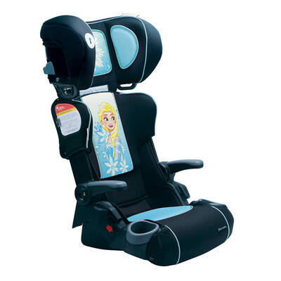 The First Years Frozen Ultra Plus Folding Kids Car Booster Seat 4y+