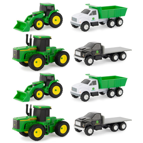 8pc John Deere Carded Gift Set